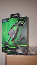 GIOTECK * EX-03 IN-LINE MESSENGER HEADSET for XBOX 360 * NEW BOX DAM