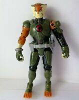 "Bandai ThunderCats TYGRA 4"" 2011 Action Figure + Gun Accessory"