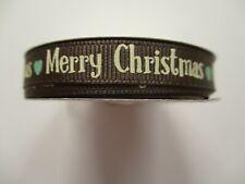 Dovecraft Traditional Christmas Grosgrain Ribbon - Merry Christmas