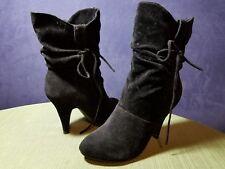Stilleto Suede Women's Boots Size 7.5