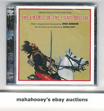 Charge of the Light Brigade John Addison SOLD OUT Ltd Ed 1,000 OOP CD Soundtrack
