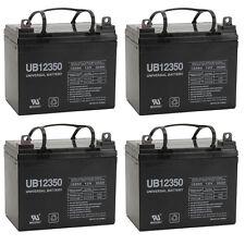 UPG 4 Pack - 35AH 12V DC DEEPCYCLE SLA SOLAR ENERGY STORAGE BATTERY