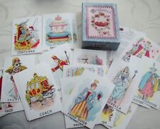 Victorian Reproduction 1895 Parlor Game CINDERELLA Playing Cards Deck Made USA