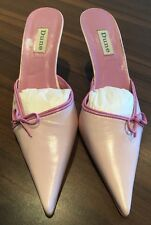 Brand New Dune Pale Pink Slip On Mules Size 7 Party Occasion Shoes