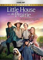 Little House on the Prairie Season 3 [Deluxe Remastered DVD) NEW FREE SHIPPING