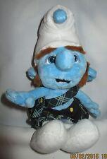 Scottish Smurf Doll Jakks Pacific Gusty Kilt Stuffed Plush Toy, 9 inch
