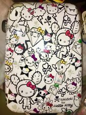 New Retired 1st Sanrio Simon Legno Tokidoki hello kitty Suitcase W Luggage Tag