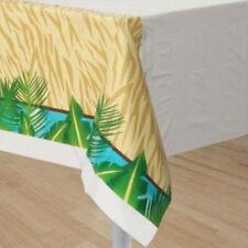 Creative Converting Bb725520 Wild Safari Plastic Table Cover -each