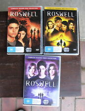 Roswell Seasons 1 2 3 Collection DVD (17 discs) - VGC