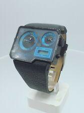 Diesel DZ7103 men's Dual Time NOS ana/digi watch DZ-7103 5 ATM