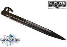 Supa-Peg TSPPB300 300mm Sand Pegs - Black