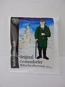 German Crottendorfer Frankincense Scent 5 Medium Incense Cones Trial Pack