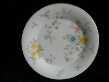 Royal Doulton ELEGY 17cm Plate English Fine Bone China - chintz flowers sandwich