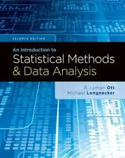 An Introduction to Statistical Methods and Data Analysis by Micheal...