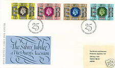 GB FDC Silver Jubilee of the Queen's Accession11.5.1977