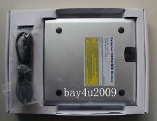 USB 3.0 External Silver Aluminum DVD & Blu-Ray Writer Burner SONY BD-5750L New