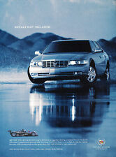 2002 Cadillac Seville STS - decals -  Classic Vintage Advertisement Ad A14-B