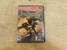 Shadow The Hedgehog - Ps2 (Sony Playstation 2) Complete W/box & Manual