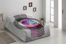 Colcha conforter de estampado digital tamaño de 135 ,150,180  Venus