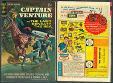 1968 U.S. GOLD KEY CAPTAIN VENTURE & THE LAND BENEATH THE SEA No. 1