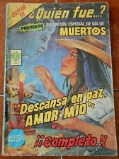 QUIEN comic special DAY OF THE DEATH dead MEXICO pride celebration OFRENDA 96 pg