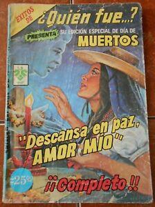 QUIEN comic special DAY OF THE DEAD death MEXICO SKULL celebration OFRENDA coco