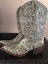 Rocky Women's Cowboy Boots Size 9. Hand Made In Mexico.