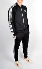 RARE adidas Originals MEN'S  SUPERSTAR  TRACK JACKET & PANTS  BLK  LARGE  LAST 1