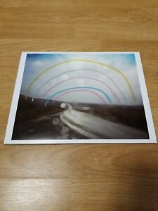 TODD HIDO 8X10 ARCHIVAL PRINT #8422 FROM A ROAD DIVIDED HAND COLORED SIGNED