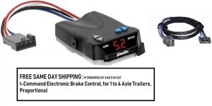 5535 Draw Tite Brake control with Wiring Harness 3035 FOR 1992-2015 Ford