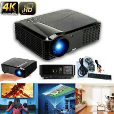 MINI 7000LUMEN 3D 1080P HD LED VIDEO PROJECTOR HDMI/USB/SD/AV/VGA HOME CINEMA US
