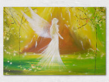 """Angel art photo """"At your side"""" glossy modern abstract contemporary picture"""