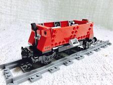 Lego City Green Cargo Train Tipper Car Mint 60098/60052/7939/7898