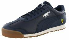 Puma Roma SF Peacoat Ferrari 306083 05 Classic Retro Navy Gum Mens Shoes Sizes