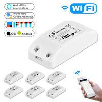 DIY WiFi Smart Light Switch Wireless Smart Home Module For Alexa Google Home US