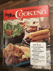 Family Circle Illustrated library of Cooking volume 1 (hardcover 1972)