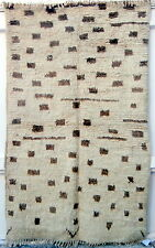 MOROCCAN BERBER HIGH ATLAS RUG which is a really old soft, supple piece with man