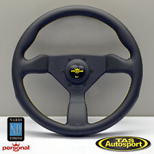 Nardi Personal GRINTA Steering Wheel Black Leather 350mm 6430.35.2095