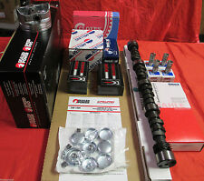 BUICK 350 MASTER Performance Engine Kit HIGH COMP w/Cam pistons gaskets chain+