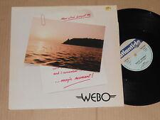 "WEBO-MAGIC MOMENT - 12"" Atlantide. Italo discoteca"