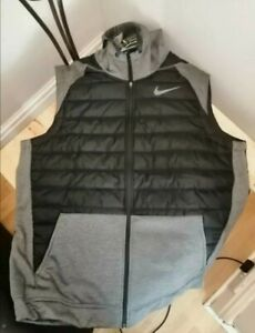 Nike Therma Winterized Hooded Gilet, New Size Xl