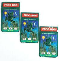 Lot of 3 Vintage 1982 Mattel Frog Bog Intellivision Controller Overlays
