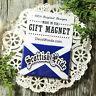 Scottish Pride * Fridge Magnet * Gift Favor New in Pkg USA Flag DecoWords