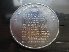 schick 1971 monday night football s 00004000 chedule nfl mardi gras doubloon new orleans
