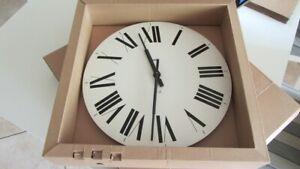 Alessi Wand-, Uhr, Clock, Firenze Design Achille & Pier Castiglioni 1996 in OVP!