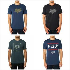 Fox Racing Mens T Shirt Short Sleeves Crew Neck Sports Casual Tee Shirt Top M XL