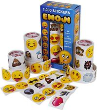 1000 Unique Emoji Stickers ~ You can use them as a reward for your kids !!!