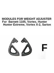 Bow WEIGHT CAM ADJUSTER Modules Type F for Barnett Vortex