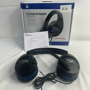 HyperX HX-HSCSS-BK/EM Cloud Stinger for PS4 - Gaming Headset - USED RRP £44 A16