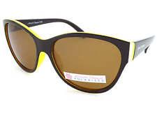 North Beach Polarizados Laci Gafas de sol para mujer marrón oscuro sobre Amarillo 70375